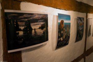 Ausstellung Drucke