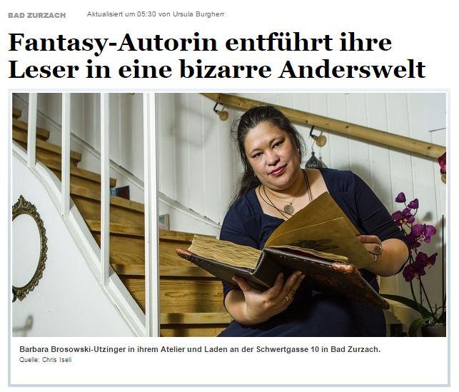 Aargauer Zeitung, 27.08.2015 (Baden)