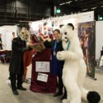 Furry Cosplayer beim Atelier Oechsli