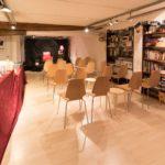 Lesesaal im Obergeschoss des Atelier