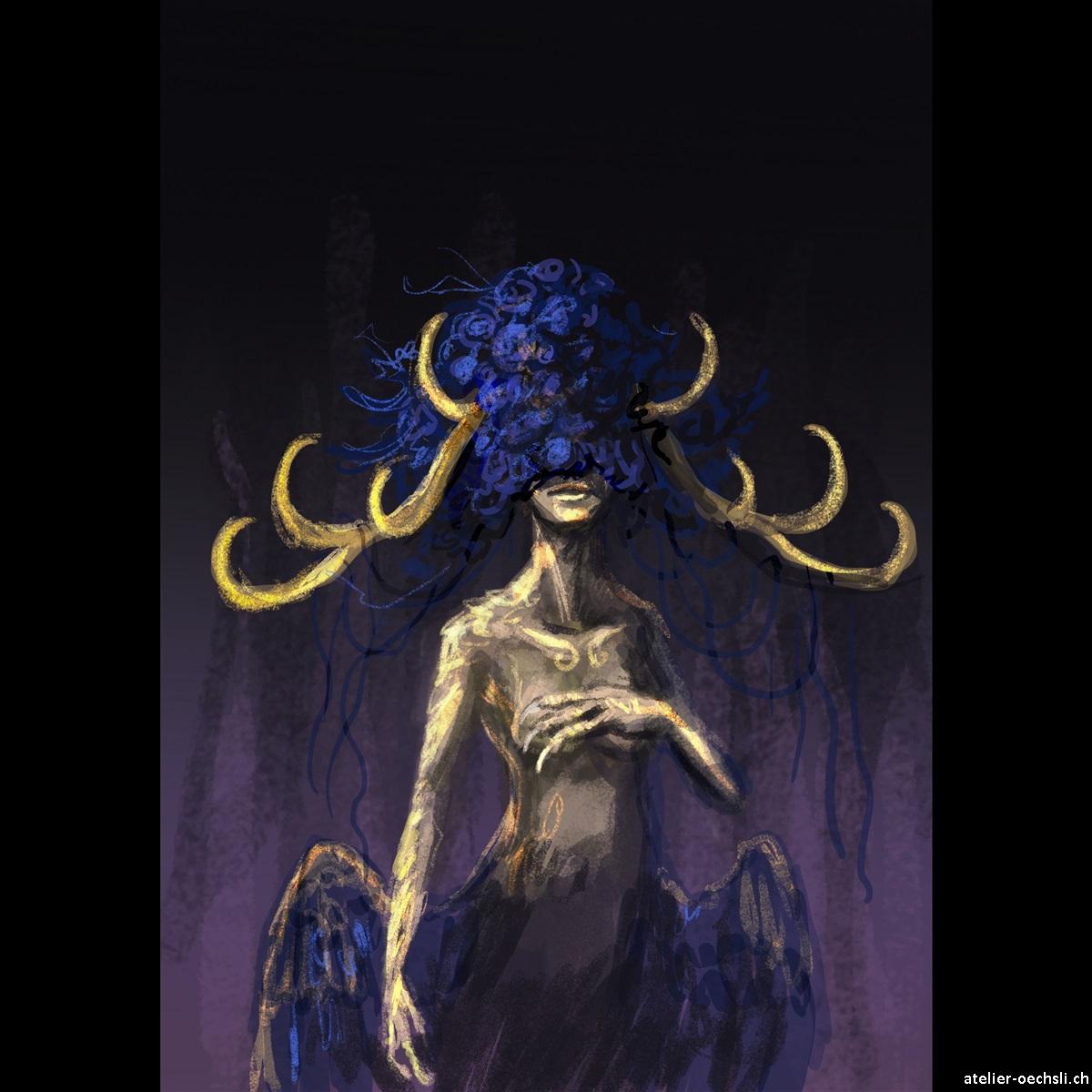 Blue Godess