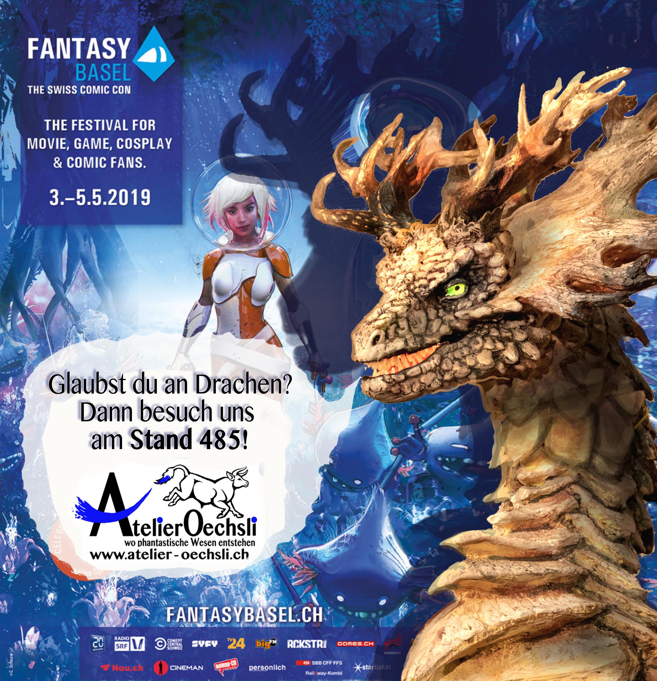 Fantasy Basel 2019 Flyer