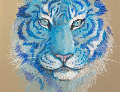 feeling_blue_blauer_Tiger